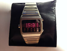 TOKYOFLASH ZEON MORSE RED LED WATCH, COOL, RARE, FUTURISTIC