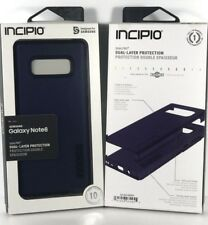 INCIPIO DualPRO Hard Shell Drop Protection Case for Samsung Galaxy Note 8 - BLUE