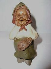 Sassy 1990 Tom Clark Gnome-Figurine Cairn Studio Retired Ed #6