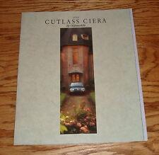 Original 1994 Oldsmobile Cutlass Ciera Sales Brochure 94