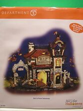 DEPT 56 REST IN PEACE TOMBSTONES Halloween Snow Village NEW in BOX #56.54608
