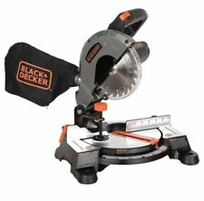 Miter Saw Table Saw Black & Decker Compound   9 Amp 7-1/4 in.