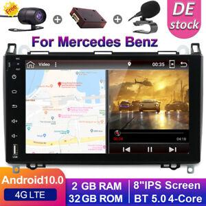"9"" Autoradio Für Mercedes Benz Benz W639/Vito/Viano/W906 Android10 GPS DAB+OBD"