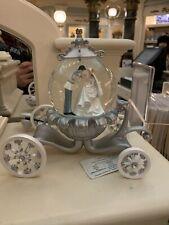 SNOW GLOBE Boule à Neige Carrosse CENDRILLON Mariage Cinderella Disneyland Paris