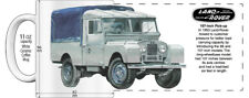 "LAND ROVER 107-INCH PICK-UP ""HIGH DETAILED"" IMAGE COFFEE MUG"
