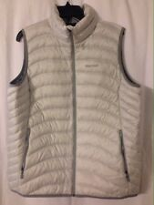 NWT Marmot Women's Aruna Full Zip Vest Glacier Gray XL 600 Down Fill $140 MSRP
