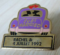 PIN'S VOITURE CITROEN TRACTION JUST MARRIED