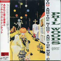 PHIL WOODS QUINTET-YOU ARE THE NIGHT THE MUSIC-JAPAN MINI LP CD C75