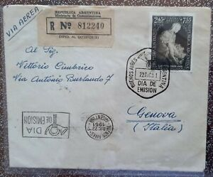 Argentina nice cover 1951