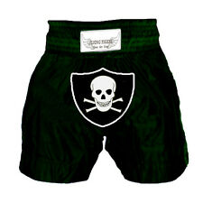 """Muay Thai' shorts Oakland raider Black Shorts - Xx Large"