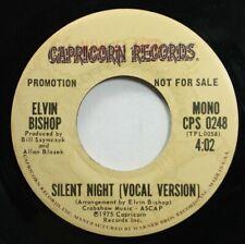 Rock Promo 45 Elvin Bishop - Silent Night (Vocal Version) / Silent Night (Vocal