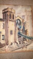 Ben Ganz Listed Artist Collection of 5 Paintings 1930's onward Unframed