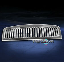 1994-2001 DODGE RAM 1500/2002 2500 3500 UPPER HOOD VERTICAL GRILLE INSERT CHROME