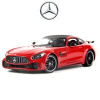 Diecast Model WELLY 1:24 Scale Mercedes-Benz AMG GTR GT R Sports Car Toy Hobbies