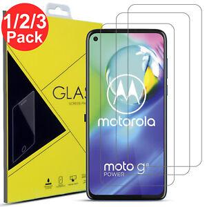 1/2/3 Tempered Glass Film Screen Protector For Moto G3 G4 G5 G6 G7 G8 Power Lite