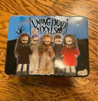 MEZCO TOYZ Living Dead Dolls Aluminum Case Pencil sharpener note pen set