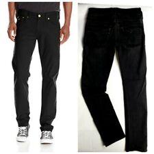 TRUE RELIGION Jeans GENO black Relaxed Slim mens sz 31 x 34 flap pockets