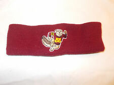 VTG-1980s Minnesota Gophers University Winter Headband Hockey Doug Woog Era