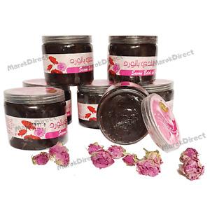 Moroccan Black Beldi Soap Hammam Spa Exfoliating Rose Extract Savon Noir Gift