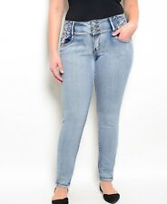 New Light Wash Plus Size Jeans Size 22