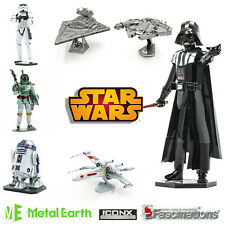 Star Wars Metal Earth ICONX Premium Series 3D Model Kit Disney Fascinations UK