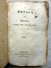 FB Rosini LA MONACA DI MONZA Storia secolo XVII Cassone Torino