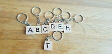 Scrabble Tile Letter Key ring Personalised Gift  party bags