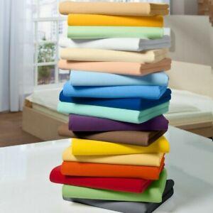 Glorious Bedding Set 7 PCs 1200TC Egyptian Cotton All UK Size Solid Colors