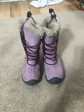 Keens Waterproof Fur Lined Snow Boots Toddler 9 Pink