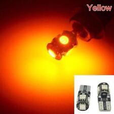 2X 10 LED ARANCIO 6000K INDICATORE SEGNALE FRECCE LAMPADINA LATERALE T10 W5W
