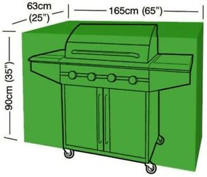 Large BBQ Barbecue Cover - 165cm x 63cm x 90cm Waterproof BBQ Outdoor Cover