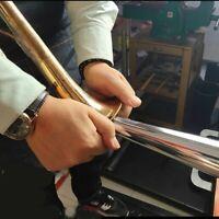 Trumpet Horn Tuba Saxophone Repair Tool Kit Part - Metal Vice Roller 2021 NEW