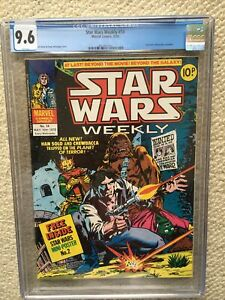 STAR WARS WEEKLY #14 CGC 9.6 NM+ HIGHEST / ONLY GRADED COPY ON THE PLANET!