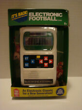 NEW MATTEL ELECTRONIC HAND-HELD ELECTRONIC FOOTBALL GAME BATTERIES INCLUDED