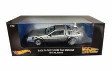 Hot Wheels 1/18 Back to the Future Time Machine w/ Mr Fusion Diecast Car DMC