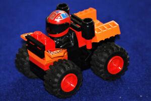 Lego® 4592 City Racer Red Monster mit Rückzugsmotor in gutem Zustand