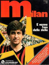 MILAN=E venne l'ora della stella=I QUADERNI DELLA GAZZETTA SPORT=1979=poster