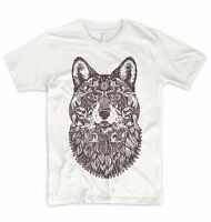 Wolf T Shirt Forest Animal Are Friends Indian Dreamcatcher Native Boho Camping