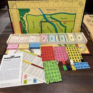 VTG 1979 Original THE FARMING GAME Board Game 99% Complete