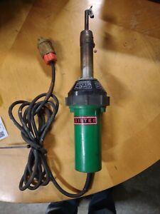 Leister Triac ST Hot Air Tool Heat Gun Works great