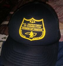U.S.Department Of Corrections Division Of Prisons North Carolina Mesh Vtg Hat