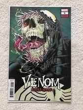 Venom First Host #5 Signed Javier Garron
