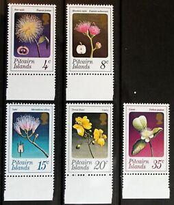 Pitcairn – 1973 Flowers Set (5) – Cat £12 – UMM (MNH)  (Se1)