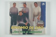 BINOMIO DE ORO DE AMERICA ...Que Viva El Vallenato! LATIN CD SEALED