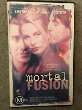 Mortal Fusion ex-rental VHS tape (1997 sci-fi thriller movie) ** VERY RARE **