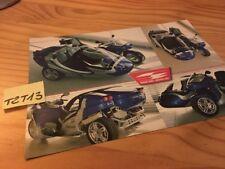 Side car Sidebike Zeus prospectus brochure prospekt pub