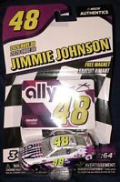 2020 NASCAR Authentics Wave 8 Jimmie Johnson #48 1:64 Ally White Camaro ZL1 1LE