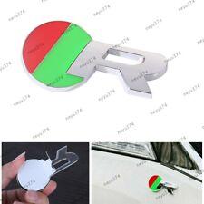 R 3D Green Chrome Metal Emblem Car Sticker Badge For Jaguar Sport F-TYPE XF XJL
