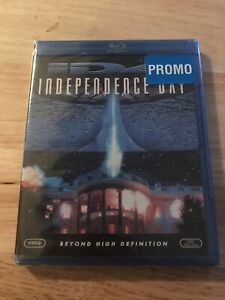 Independence Day iD4 (Blu-ray Disc, 2007) promo copy no barcode.  No slip case