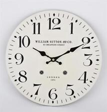 Orologi da parete bianca analogici rotondi